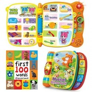 First 100 Words Musical Rhymes & Touch & Teach Word Book.