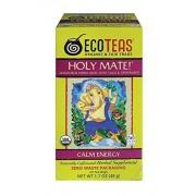ECOTEAS Organic Holy Mate Tea 24 Bolsas (Paquete de 3)