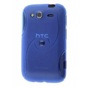 HTC Wildfire S Wave Case - HTC Soft Cover (Light Blue)