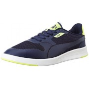 Puma Men's Icra Evo Dp Navy Leather Safety Shoes - 9 UK/India (43 EU)