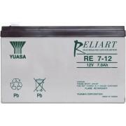Acumulator de plumb Yuasa RE7/12L, 12 V, 7 Ah