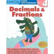 Decimals & Fractions, Grade 4, Paperback