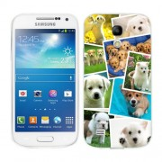 Husa Samsung Galaxy S4 Mini i9190 i9195 Silicon Gel Tpu Model Puppies Collage