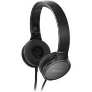 Casti Stereo Panasonic RP-HF500ME-K, Microfon (Negru)