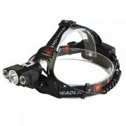 Lanterna Frontala 3 LED 5W Capete mobile Acumulatori 12V 220V MX1825T6