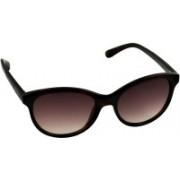 Scott Round Sunglasses(Brown)