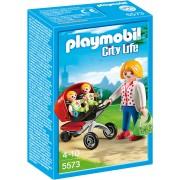 PLAYMOBIL - CARUCIOR CU GEMENI (PM5573)