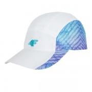 Дамска шапка с периферия 4f White