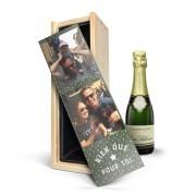 YourSurprise Coffret champagne René Schloesser (37,5cl) à personnaliser