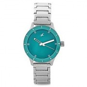 Fastrack Quartz Blue Round Women Watch 6078SM01