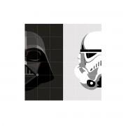 IXXI - Stormtrooper / Darth Vader, 120 x 120 cm