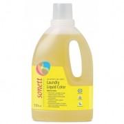 Detergent Ecologic Lichid Pentru Rufe Colorate - Menta Si Lamaie 1.5l Sonett