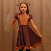 Costum caprioara cod J018