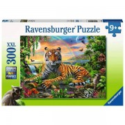 Puzzle Tigru La Rasarit, 300 Piese