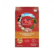 Purina ONE SmartBlend Chicken & Rice Formula Adult Premium Dry Dog Food, 8-lb bag