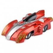 Masina de jucarie cu telecomanda Zero Gravity Wall Climb Racer rosu/ argintiu