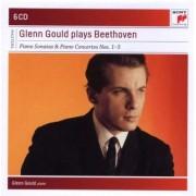 Piano Sonatas & Piano Concertos nr.1-5 - Glenn Gould plays Beethoven (6CD)