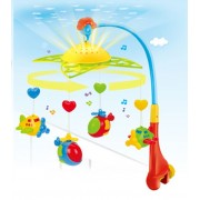 Carusel muzical universal cu lumini Fairyland Plane