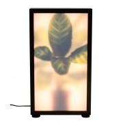 Zuiver Grow M Vloerlamp - Roomdivider - 29x8x51- LED - Zebra Plant