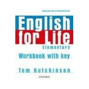 Vv.aa. English For Life Elementary: Workbook With Key