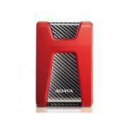 """Hard disk externADATA, 2TB, HD650, 2.5"""", USB3.1, Rezistent la zgarieturi, Rosu"""