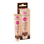 Dermacol Sun Cream & Lip Balm SPF30 crema solare viso e balsamo labbra 30 ml