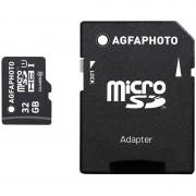 Cartão de Memória MicroSDHC AgfaPhoto 10581 - 32GB