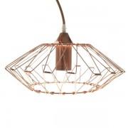 Lámpara Colgante E27 Cobre Hermes