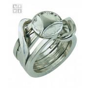 Cast Puzzle Ring II Mozgalice