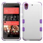 Funda Protector HTC 626 530 Triple Layer Blanca / Morada