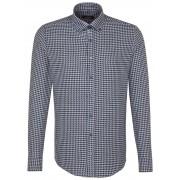 Seidensticker Overhemd Button Down Business Donker Blauw Melange / male