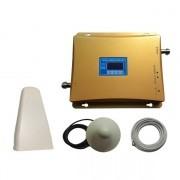 Усилвател за GSM сигнал и 3G (GSM 900MHz Repeater и 3G W-CDMA 2100MHz Repeater) до 1000 кв.м.