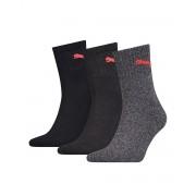 PUMA Soft Cotton Logo Socks 3 Pack BGA