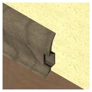 PBC605.240 - Plinta LINECO din PVC culoaregri maroniu pentru parchet - 60 mm