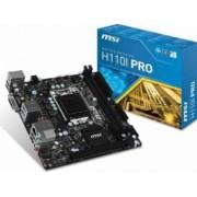 Placa de baza MSI H110I PRO Socket 1151