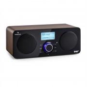 Auna Worldwide Stereo, интернет радио, Spotify Connect App Control, BT, орех (MG2-Worldwide ST WD)