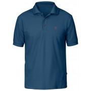 FjallRaven Crowley Pique Shirt - Uncle Blue - Shirts Polo M