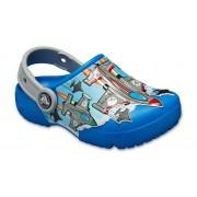 Crocs Fun Lab Fighter Jets Klompen Kinder Bright Cobalt 25
