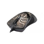 Mouse Laser USB A4TECH X7 Oscar Black (XL-747H), wired cu 7 butoane si 1 rotita scroll, rezolutie ajustabila peste 2000dpi