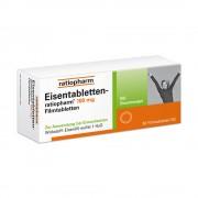 ratiopharm GmbH EISENTABLETTEN-ratiopharm 100 mg Filmtabletten 50 St
