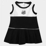 Vestido Santos Infantil Regata Babado - Feminino