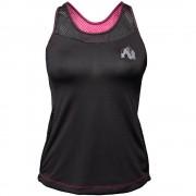 Gorilla Wear Marianna Tank Top - Black/ Pink - S