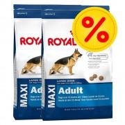 Royal Canin Size Fai scorta! 2 x Royal Canin Size - Maxi Health Nutrition Dermacomfort (2 x 12 kg)
