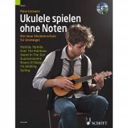 Schott Music Ukulele spielen ohne Noten Petra Gutmann, mit CD
