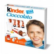 Batoane Ciocolata cu Crema Lapte Kinder 50g