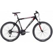 "Bicicleta MTB Leader Fox Evolution 2015, Cadru 18"", Roti 26"" (Negru)"