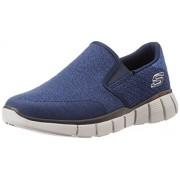 Skechers Men's Equalizer 2.0 Navy Nordic Walking Shoes - 9 UK/India (43 EU)(10 US)
