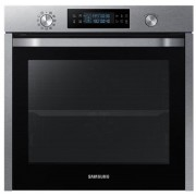 Cuptor electric incorporabil Samsung NV75K5571RS, 75 litri, dual cook, grill, inox