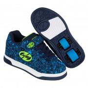 Heelys X2 Dual Up Navy/Blue/Print