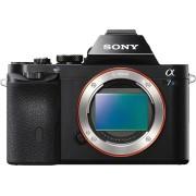 Sony »Alpha ILCE-7S« Systemkamera-Body (12,2 MP, WLAN (Wi-Fi), NFC, Gesichtserkennung, HDR-Aufnahme, Smile-Detection, E-Mount Wechselobjektivsystem)